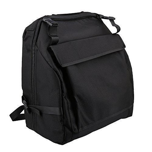 - Lovermusic 48x52cm Black 1200D Oxford Cloth Case Storage Bag for Accordion 120 Bass