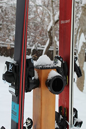 Button Ski Hangers, 5 Pack, To Build a Button Ski Rack