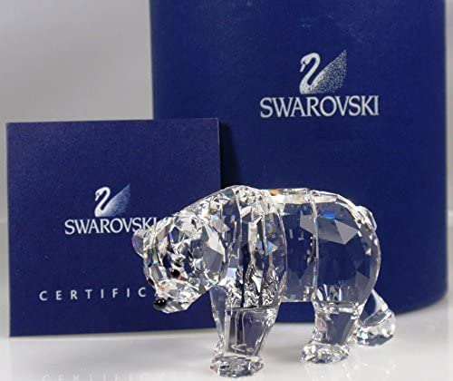 SWAROVSKI Crystal SCS Collectible Sister Bear Figurine Sculpture Statue