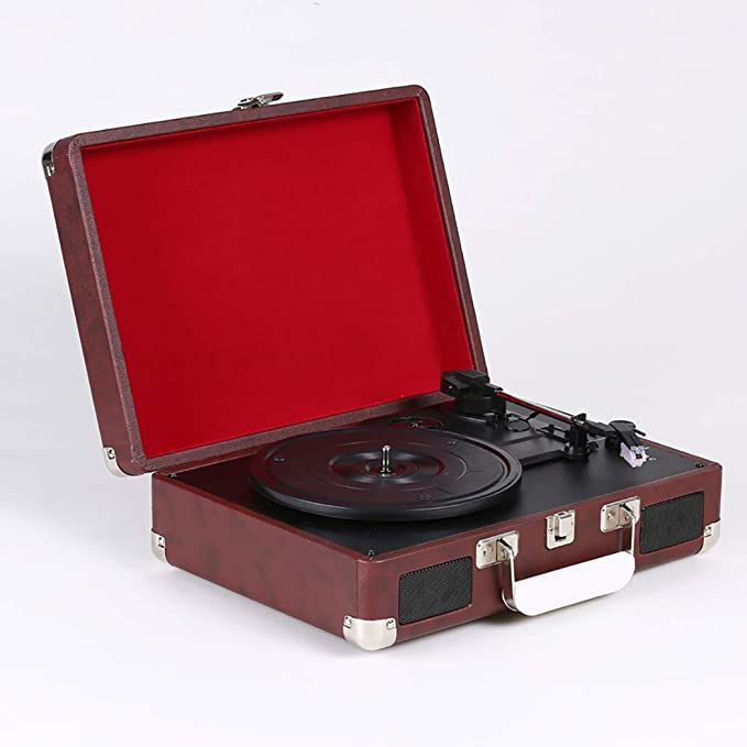 RAPLANC Placa giratoria de Maleta para 33/45/78 RPM Vinyl ...