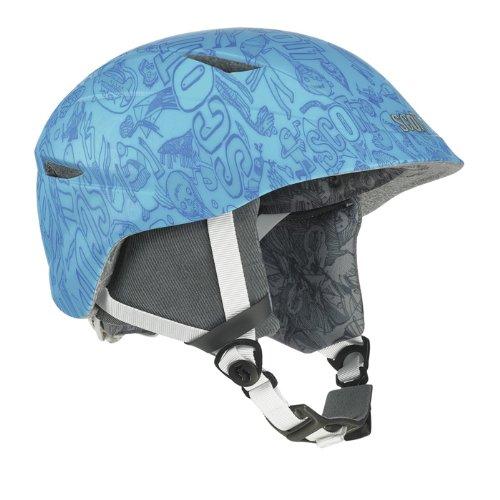 Scott Keeper monstertown Ski Helmet (Blue Matt, Small), Outdoor Stuffs