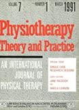The Use of Single Case Research Designs in Rehabilitation Studies : Special Issue of Physiotherapy Theory and Practice, , 0863771645