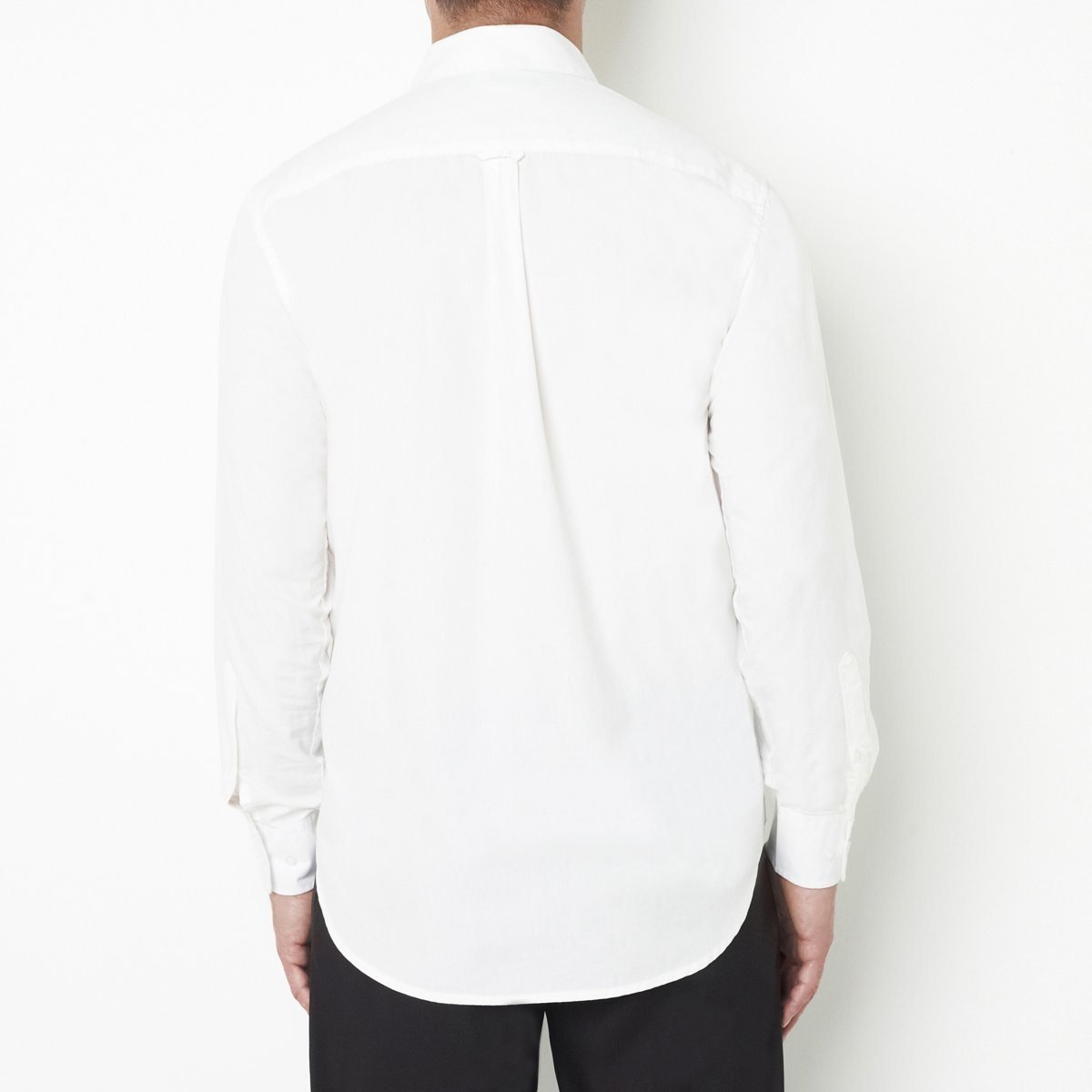 La Redoute Castaluna for Men Mens Extra Long Long-Sleeved Cotton Poplin Shirt