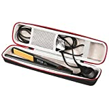 stying Portable Carrying EVA Hair Straightener Case for Ghd IV Classic Styler Stying Tool Curler Box Storage Bag Case Protector (Black)