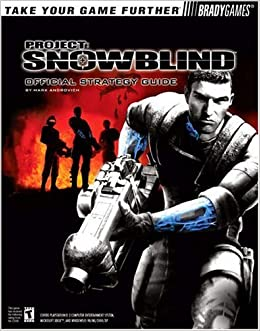 Book Project Snowblind Official Strategy Guide (Official Strategy Guides)