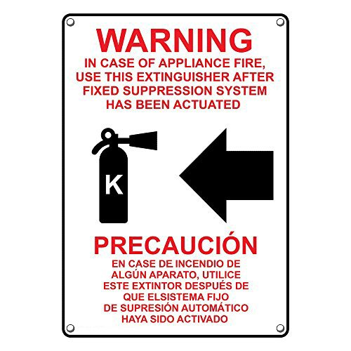 How to find the best fire extinguisher signs english and spanish for 2020?