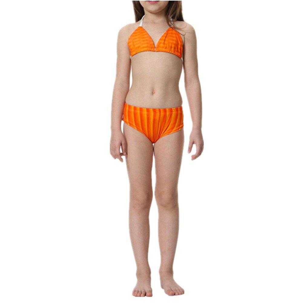 be0e2a2657d5 PrettyCos 3PCS Bikini Traje de Baño Sirena para ninas Bañador ...