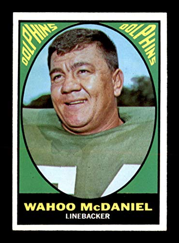 1967 Topps #82 Wahoo McDaniel RC NM X1721629, used for sale  Delivered anywhere in USA