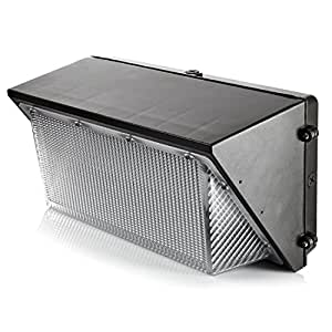 Hyperikon LED 135W Wall Pack Light, 750-900W HPS/HID Replacement, 5000K, 16200 Lumens, IP65 Waterproof and Outdoor Rated, DLC 4.2 & UL - Shield Included