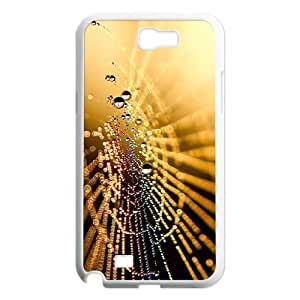 Crystal droplets Unique Design Cover Case with Hard Shell Protection for Samsung Galaxy Note 2 N7100 Case lxa#450307