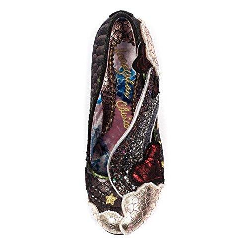 Irregular Choice Zapatos de Vestir de Material Sintético Para Mujer Negro Negro