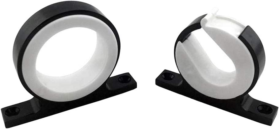 Rostfrei UV-best/ändig Schwarz Shiwaki 2 STK Aluminium Bootsrutenhalter Angelrutenhalter Rod Holder