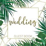 Wedding Guest Book: Tropical Safari Jungle Theme