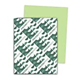 Neenah Astrobrights Heavy Duty Paper, 500 Sheets, Vulcan Green, 24 lb, 8.5 x 11 Inches, Office Central