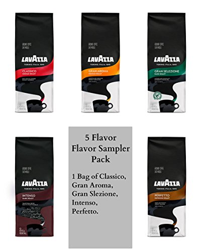 Lavazza Ground Coffee - 12oz Bags (5 Flavor Sampler)