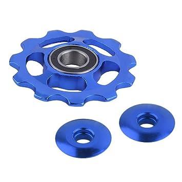 Cutowin 11Tooth MTB - Rodamiento de cerámica para Bicicleta de Carretera, Azul: Amazon.es: Deportes y aire libre