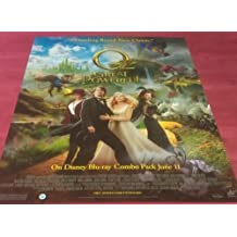 "OZ THE GREAT AND POWERFUL Original Movie Promo Poster 22""x28"" - Single-Sided - James Franco - Mila Kunis - Rachel Weisz - Michelle Williams"