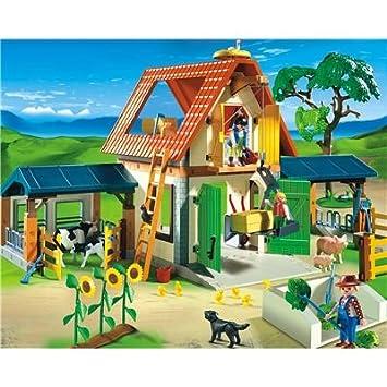 Playmobil 4490 Großer Bauernhof Amazonde Spielzeug