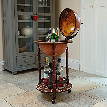 Swell Deals Online Globe Shaped Drinks Cabinet Mini Bar Trolley 2 Sizes Vintage Retro Alcohol Booze Small Home Interior And Landscaping Eliaenasavecom