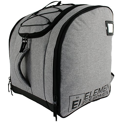 Element Equipment Boot Bag Deluxe Snowboard Ski Backpack Heather Grey/Black New for 2018