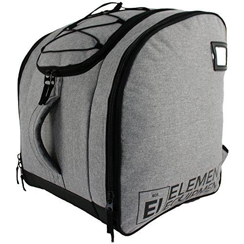 Element Equipment Boot Bag Deluxe Snowboard Ski Backpack Heather Grey/Black