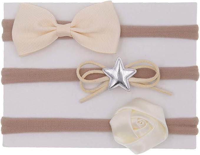 Girls Medium Mint Green Hair Bow Soft Nylon Baby Headband //Suitable From Birth