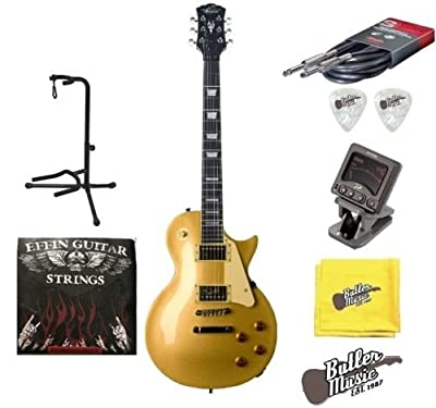 Oscar Schmidt OE20G Electric Guitar - Gold