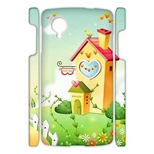 Lovely Cartoon Series - Custom Cute Sweet Cartoon Theme In Your Google Nexus 5 Cool Google Nexus 3D Case CG530