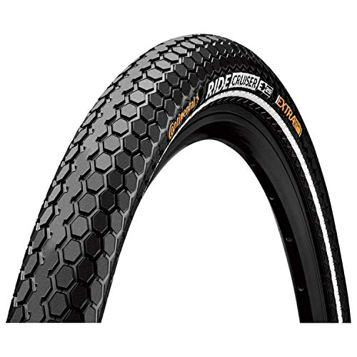 - Continental Ride Cruiser ETRTO (50-559) 26 X 2.2 REFLEX Bike Tires, Cream