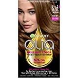 hair colour developer - Garnier Olia Oil Powered Permanent Hair Color, 6 1/2.3 Lightest Golden Brown (Packaging May Vary)