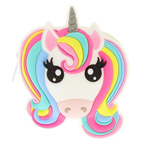 Claire's Girl's Miss Glitter the Unicorn Jelly Coin Purse