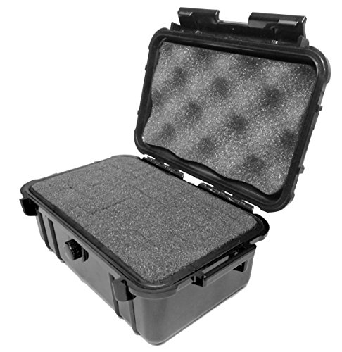 SMOKESAFE Medium Smell Proof Case 8' Odor Resistant Travel Storage Stash Box Container - Fits Pax 2 , Grinder , Containers and More Accessories