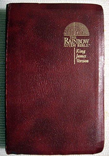Rainbow Study Bible; King James Version; Burgundy Imitation Leather
