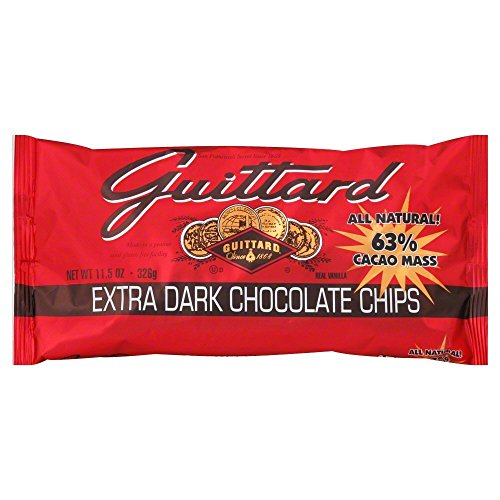 - Guittard Extra Dark Chocolate Chips, 11.5 Ounce - 12 per case.