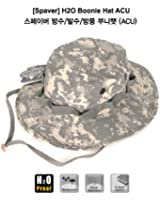Military H20 Boonie Hat Camouflage Cotton Waterproof Outdoor Widebrim Bucket Color ACU