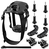 Neewer GoPro Dog Harness Accessories Kit for GoPro Hero 6 5 4 3+ 3 2 1 Hero4 Session, SJ4000 5000 6000 7000 DBPOWER AKASO VicTsing WiMiUS Rollei QUMOX Lightdow Campark und Sony Sports Dv and More