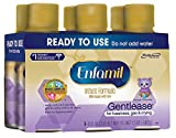 Enfamil Gentlease Infant Formula - Clinically Proven to reduce fussiness, gas, crying in 24 hours - Ready to Use Nursette Bottles, 8 fl oz (6 count)