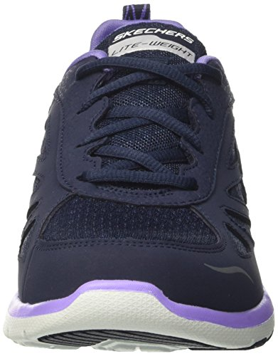 Laufschuhe Navy Purple Enigma Skechers Damen Blau Galaxies tqnPxZ7