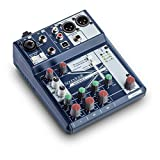 Soundcraft Notepad-5 Small-Format Analog Mixing Console with USB I/O, 5-channel mixer (