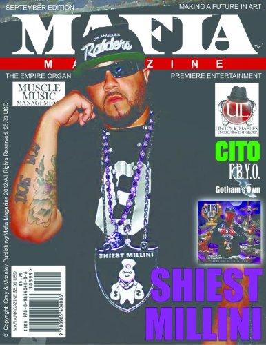 MAFIA MAGAZINE (Mafia Magazine September Issue - Volume 9) (English Edition)