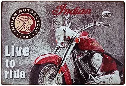 Corvette metal tin sign vintage cafe pub motorcycle retro plaque garage kitchen