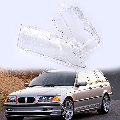 Bmw E46 Face Lift - Headlight Lens Cover,POSSBAY Car Headlamp Lenses Glass Replacement for BMW 3-Series E46 Sedan 1998-2001 Pre-facelift