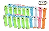 PACK OF 12 - Floppy Loofa Dog Toy, Color Will Vary, 1 Count