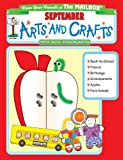 September Monthly Arts and Crafts, The Mailbox Books Staff, 1562343254