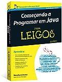 capa de Começando a Programar em Java Para Leigos