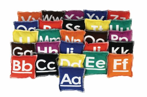 American Educational Products Alphabet Beanbags, 4 x 4