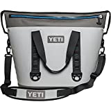 yeti cooler package - YETI Hopper Two 40 Portable Cooler, Fog Gray / Tahoe Blue