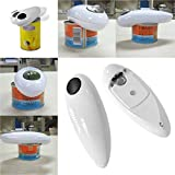 One Touch Automatic Electric Tin Can Opener Bottle Tin Can Open...