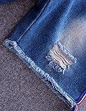 lorpops Boys' Dayla Wide Cuffed Capri Jeans in
