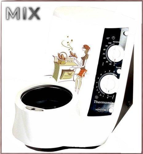 PEGATINA para Thermomix TM21 TM 21 NEU cocinera cocina mujer en la ...